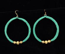 Fair Trade Bullet Casing Bead Earrings from Ethiopia