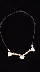 Fair Trade Silver Plated Bullet Casing Bead Necklace from Ethiopia