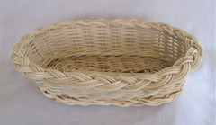 Fair Trade Woven Basket from Lebanon