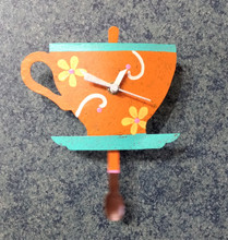 Fair Trade Teacup Clock from Colombia