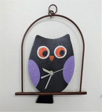 Fair Trade Owl Clock from Colombia