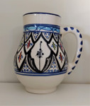 Fair Trade Hand Painted Ceramic Mug from Tunisia