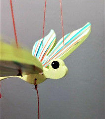 Fair Trade Flying Dragonfly Mobile from Colombia