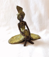 Fair Trade Lost Wax Bronze Sculpture from Burkina Faso