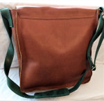 Fair Trade Leather Messenger Bag from Ethiopia