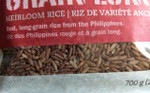 Fair Trade Heirloom Rice from the Philippines