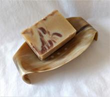 Fair Trade Ankole Cow Horn Soapdish from Uganda