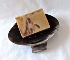 Fair Trade Ankole Cow Horn Soapdish from Uganda