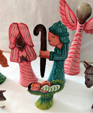 Fair Trade Recycled Steel Drum Nativity from Haiti