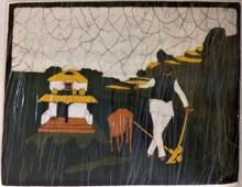 Fair Trade Cotton Batik Wall Art from Nepal
