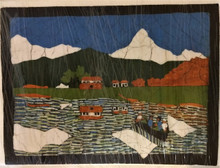 Fair Trade Cotton Batik Wall Art from Nepal