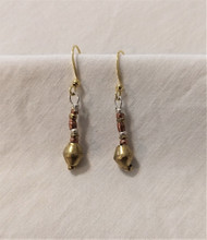 Fair Trade Recycled Bullet Casing Earrings from Ethiopia