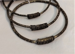 Fair Trade Wire Bracelet from Zambia