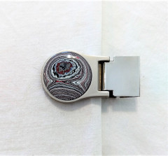 Fordite Money Clip