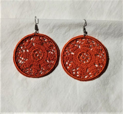 Fair Trade Crocheted Earrings Made by Syrian Women