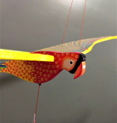 Fair Trade Flying Parrot Mobile from Colombia