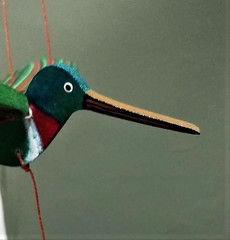 Fair Trade Flying Hummingbird Mobile from Colombia