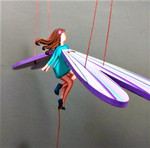 Fair Trade Flying Fairy Mobile from Colombia
