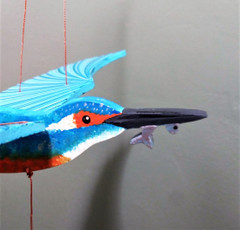 Fair Trade Kingfisher Mobile from Colombia