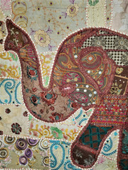Fair Trade Elephant Wall Hanging from India