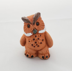 Fair Trade Handpainted Ceramic Owl from Peru