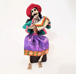 Fair Trade Retablo Day of the Dead Figure from Peru