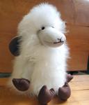 Fair Trade Alpaca Fiber Stuffed Sheep from Peru