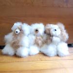 Fair Trade Alpaca Fiber Stuffed Teddy Bear from Peru