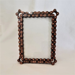 Fair Trade Bicycle Chain Picture Frame from India