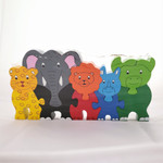 Fair Trade Wooden Jungle Animal Puzzle from Sri Lanka