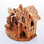 Fair Trade Carved Olivewood Nativity from Palestine
