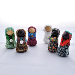 Fair Trade Beaded Nativity from Honduras