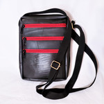 Fair Trade Upcycled Inner Tube Purse from Nepal