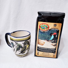 Fair Trade French Roasted Coffee from Ethiopia and Timor