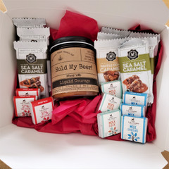 Fair Trade Chocolate and Soy Candle Gift Set