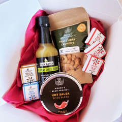 Fair Trade Spicey Cook and Snack Gift Set