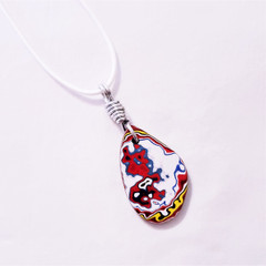 Fordite Pendant from United States