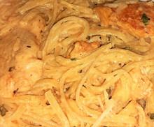 Cajun (Chicken & Shrimp) Pasta *Spicy