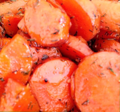 Glazed Herb Carrots