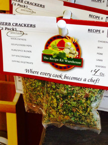 Herb No Bake Cracker Mix