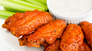 This is a great spicy blend for your wings.