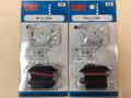 GWS Micro Dual Ball Bearing Servo (JR) 2 packs