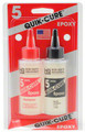 Bob Smith Epoxy QUIK-CURE  5 min. 4.5 Oz BSI-201