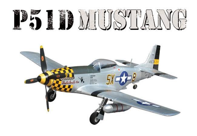 Hitec Weekender P-51 Mustang Warbird