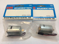 GWS 370C(MO.4X12T) MOTOR W/PINION, 2 Packs