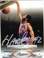 CONNIE HAWKINS AUTOGRAPHED BASKETBALL CARD #100111D