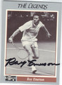 ROY EMERSON AUTOGRAPHED TENNIS CARD #100113F