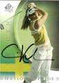 CARIN KOCH AUTOGRAPHED GOLF CARD #100112i