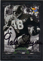 GALE SAYERS AUTOGRAPHED FOOTBALL CARD #100312O
