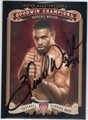 HERSCHEL WALKER AUTOGRAPHED FOOTBALL CARD #100412B